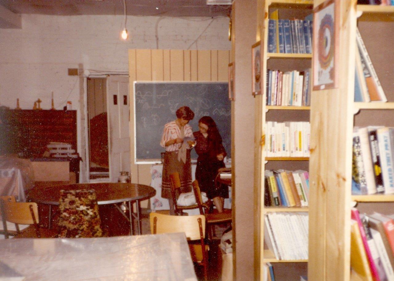 1984-Miriam & Barb