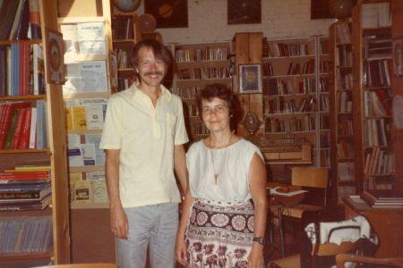 1984-07-Ken McRitchie + Francoise Gauquelin