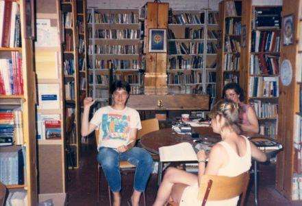 1984-10-Joanne Boily-Pat Stoyko+Natalie Damov