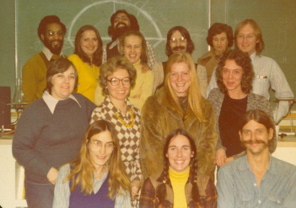 1976 Robin And Class At IAO