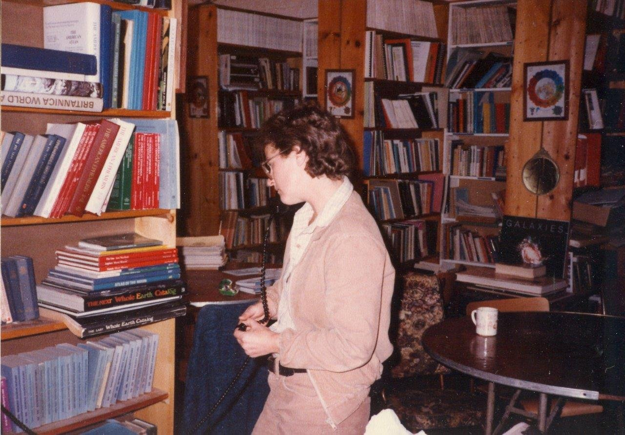 1984-10-Natalie Damov-hard working and dedicated volunteer!