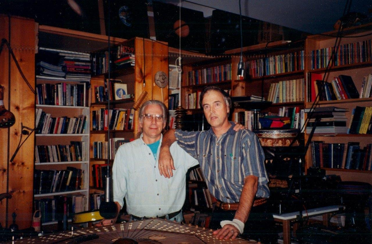 1998-spring- 0009-CH-Robin and Brittish Astrologer Nick Kollerstrum
